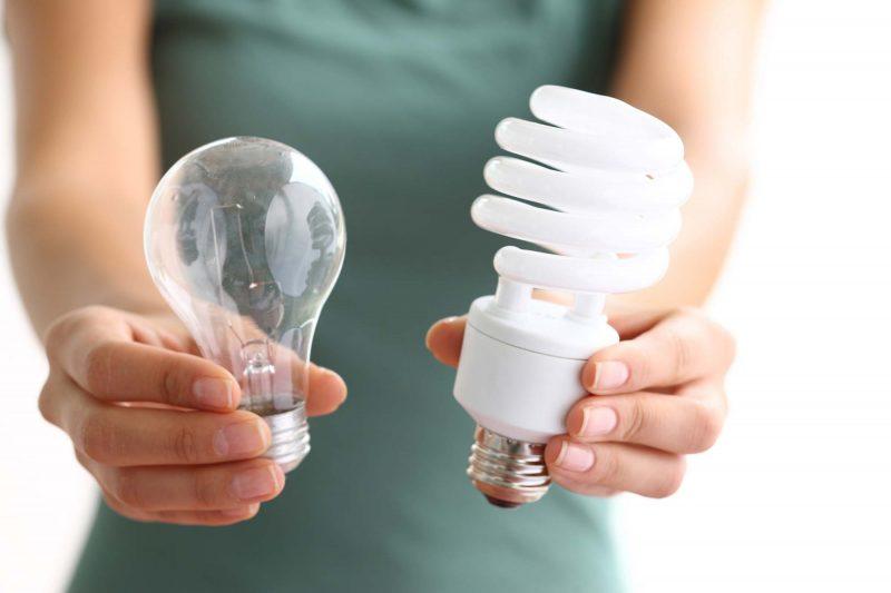 Cómo escoger y reciclar bombillas de bajo consumo