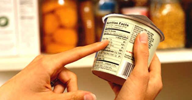 Información nutricional obligatoria en el etiquetado de los alimentos