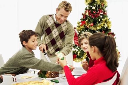 Disfrutar la Navidad en positivo